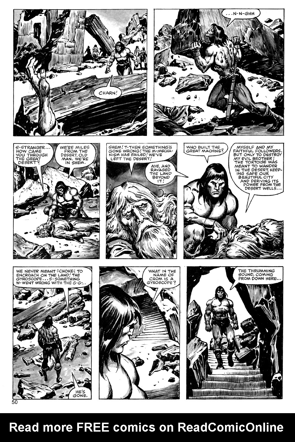 The Savage Sword Of Conan Issue #72 #73 - English 50
