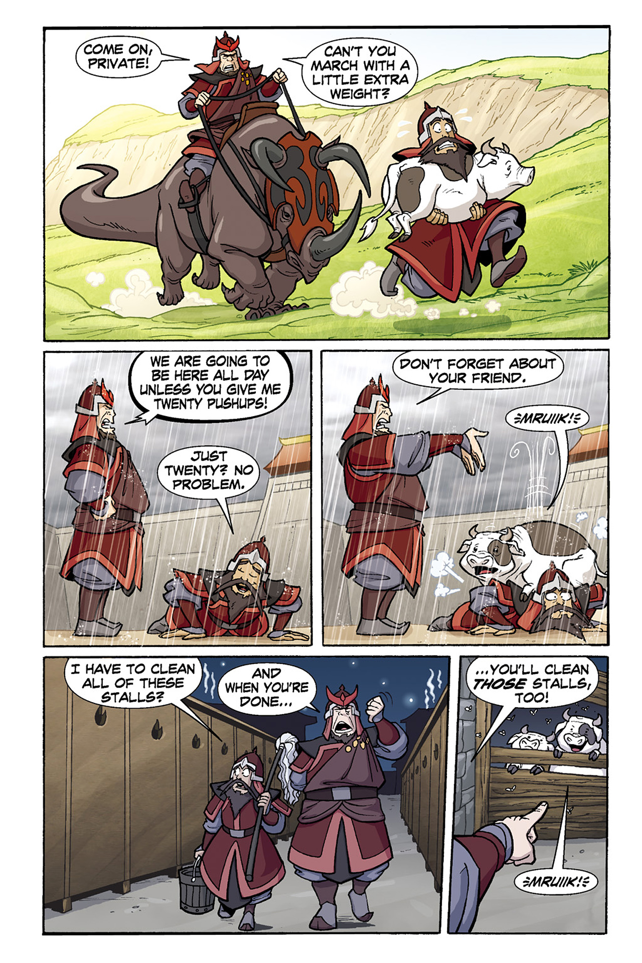 Nickelodeon Avatar: The Last Airbender - The Lost Adventures chap full pic 126
