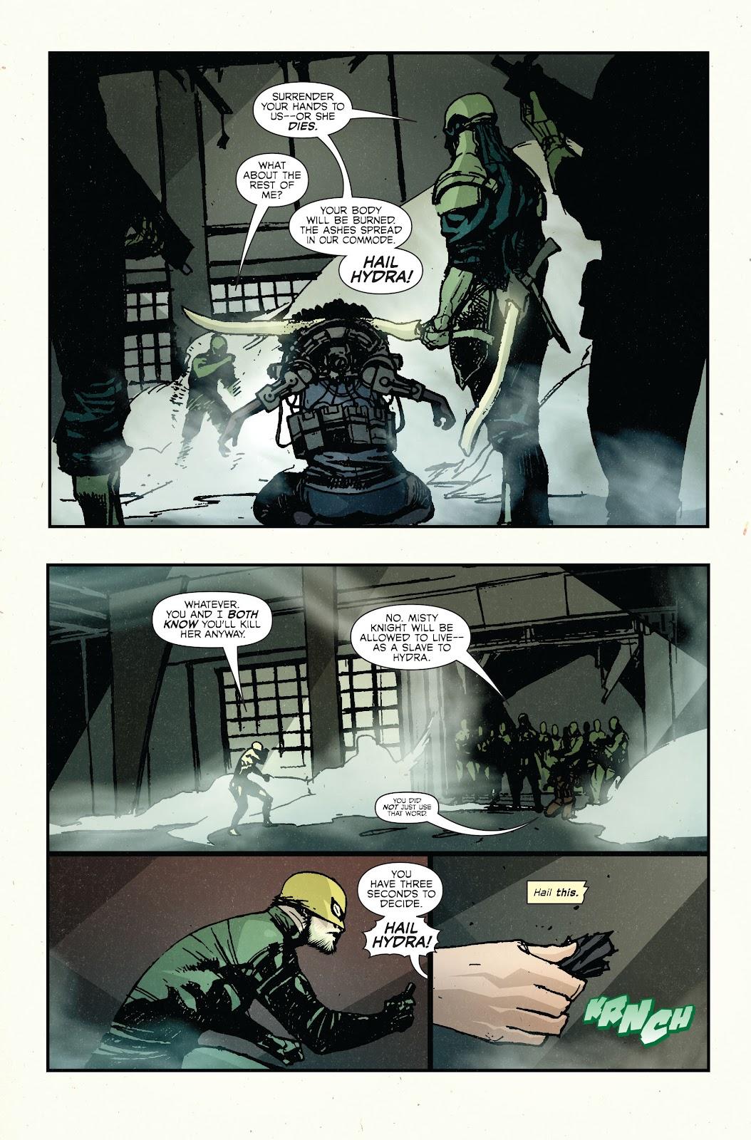 The Immortal Iron Fist Issue #27 #28 - English 14