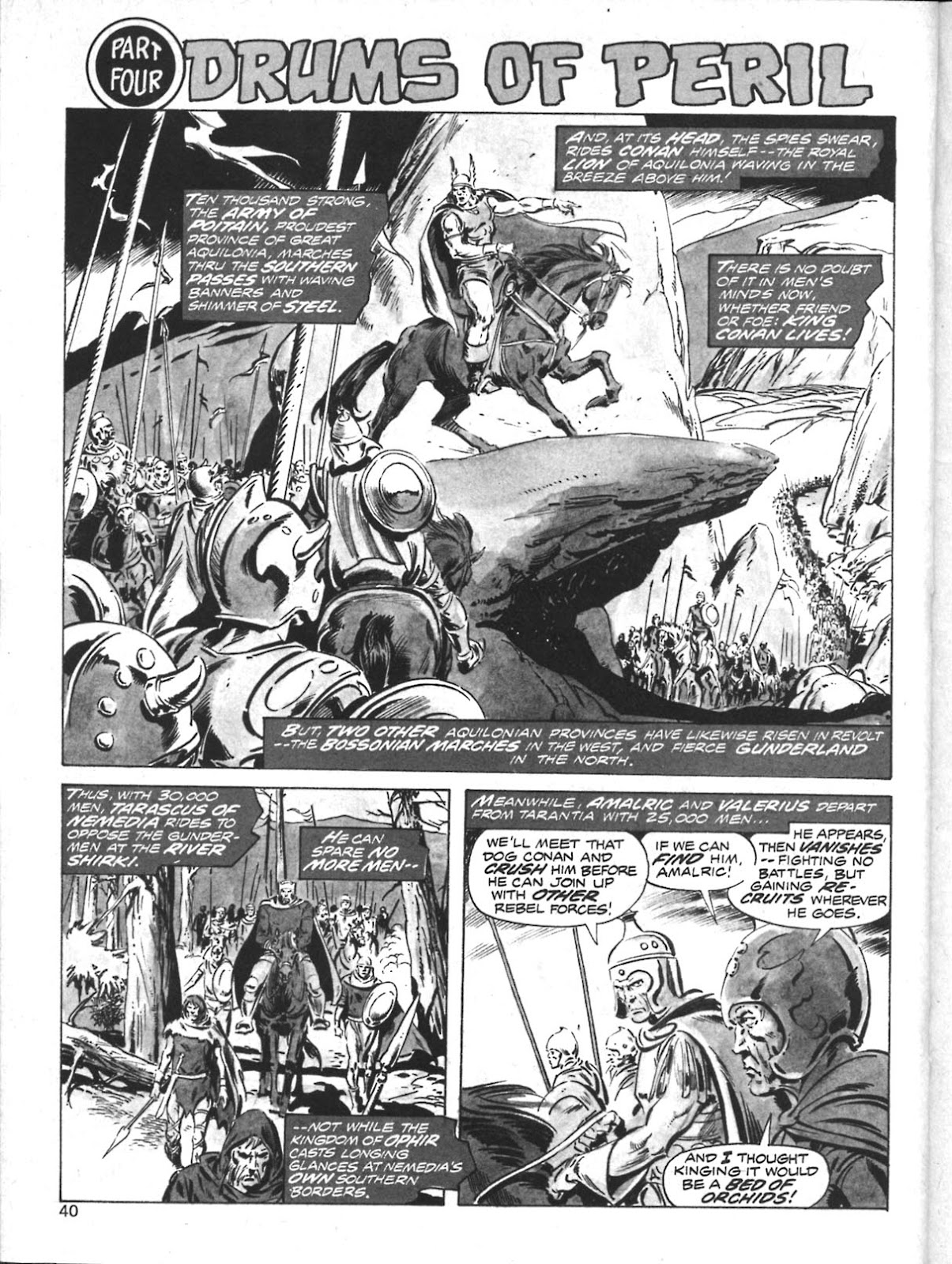 The Savage Sword Of Conan Issue #10 #11 - English 32