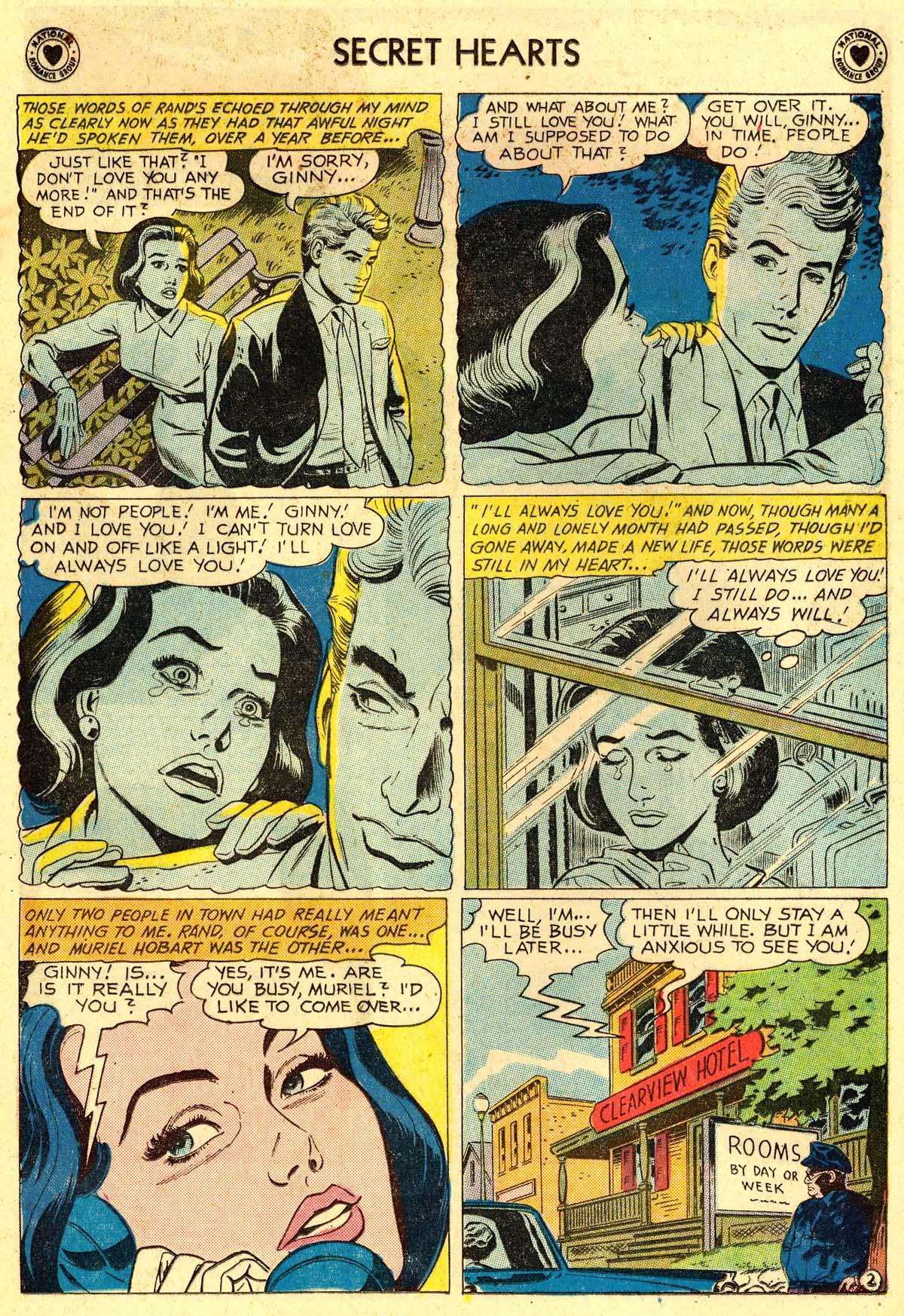 Read online Secret Hearts comic -  Issue #62 - 4