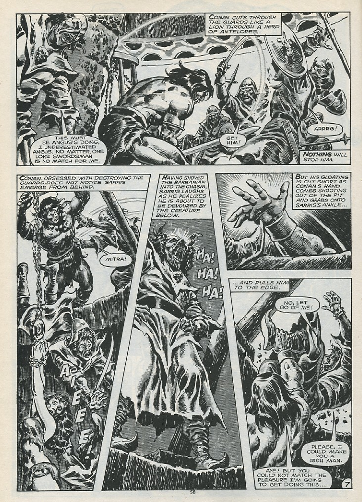 The Savage Sword Of Conan Issue #179 #180 - English 60