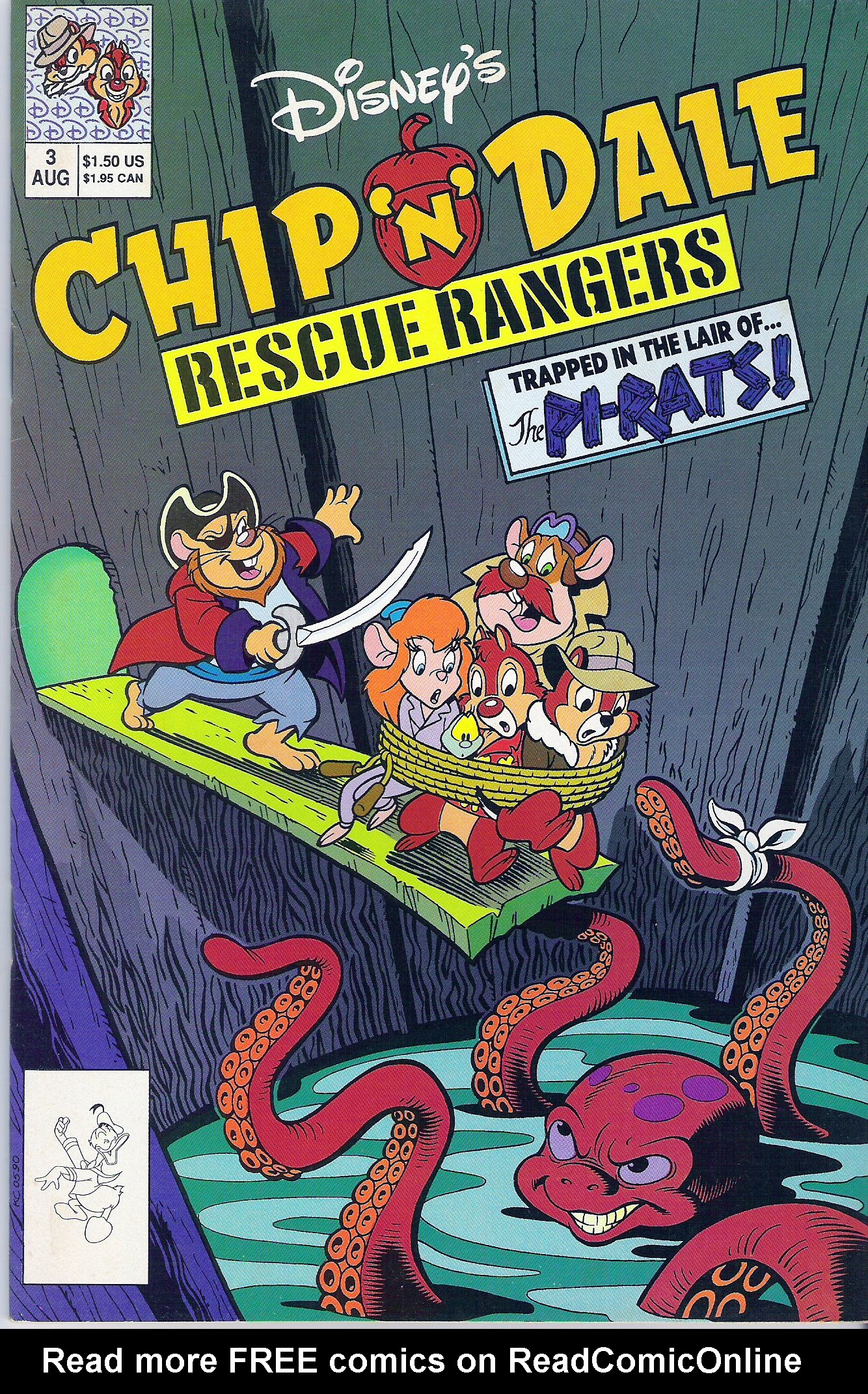 Disneys Chip N Dale Rescue Rangers 3 Page 1