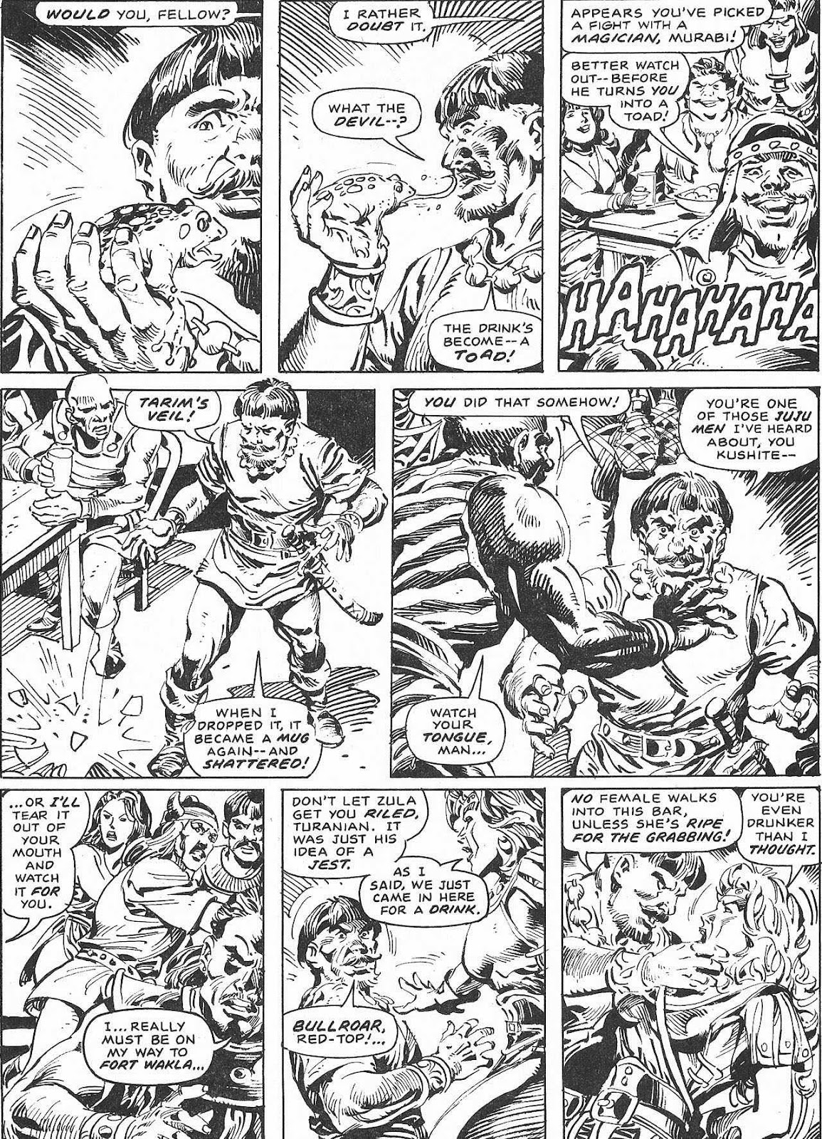 The Savage Sword Of Conan Issue #207 #208 - English 58