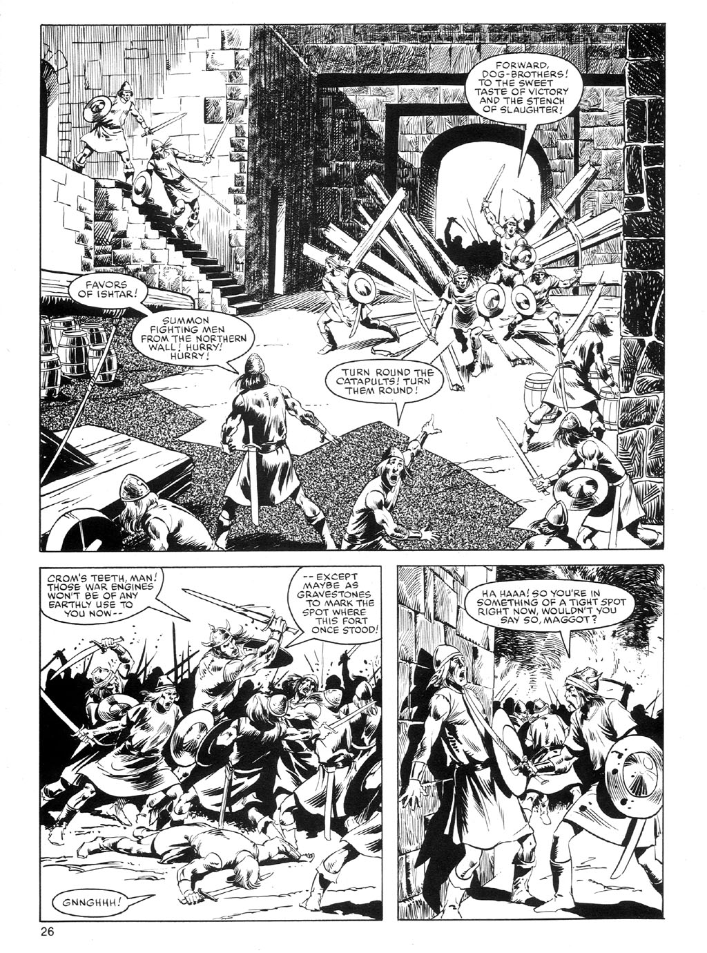 The Savage Sword Of Conan Issue #91 #92 - English 25