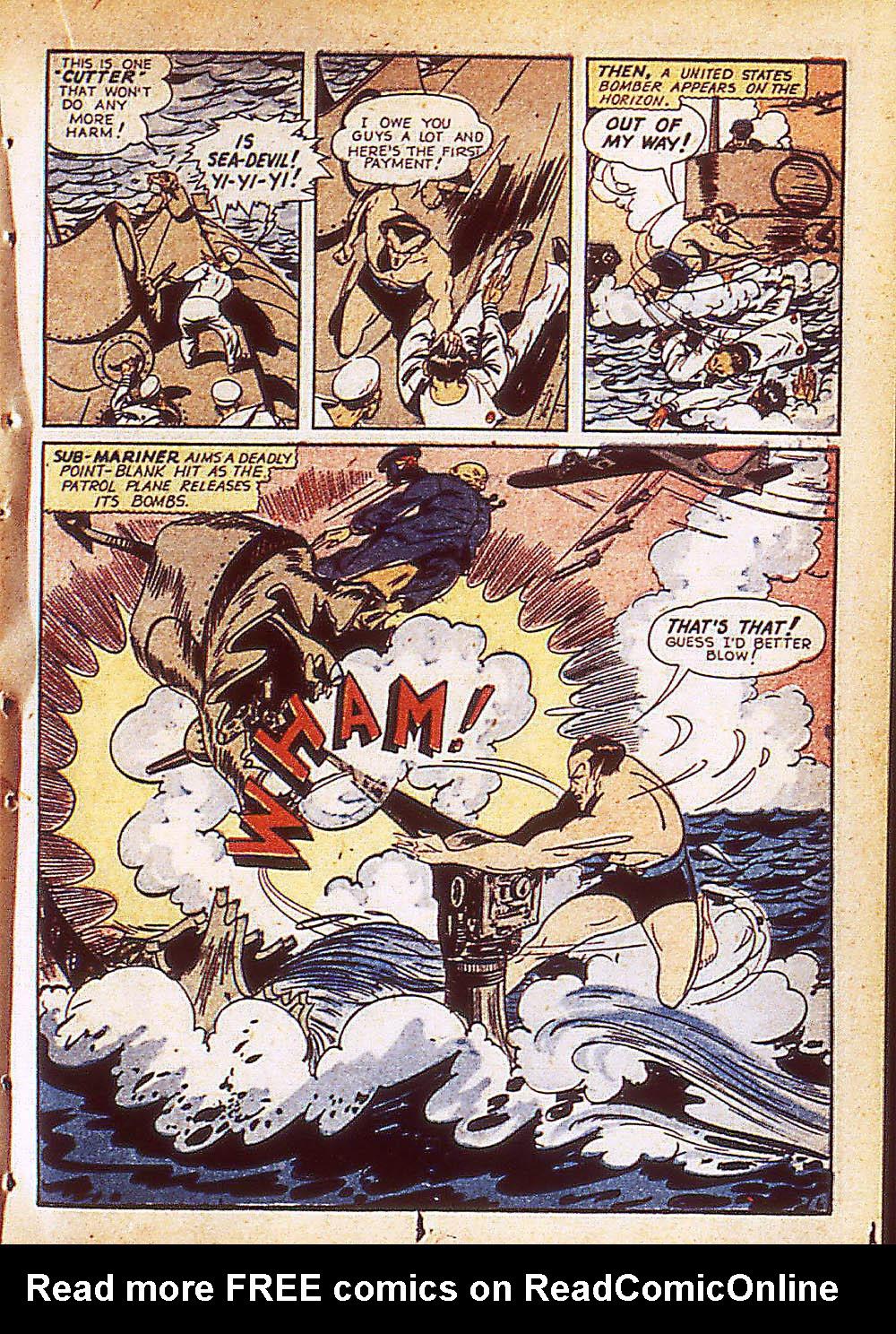 Sub-Mariner Comics Issue #8 #8 - English 30