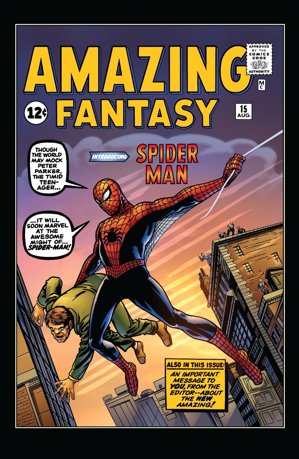 Amazing Fantasy #15: Spider-Man! Full #1 - English 2