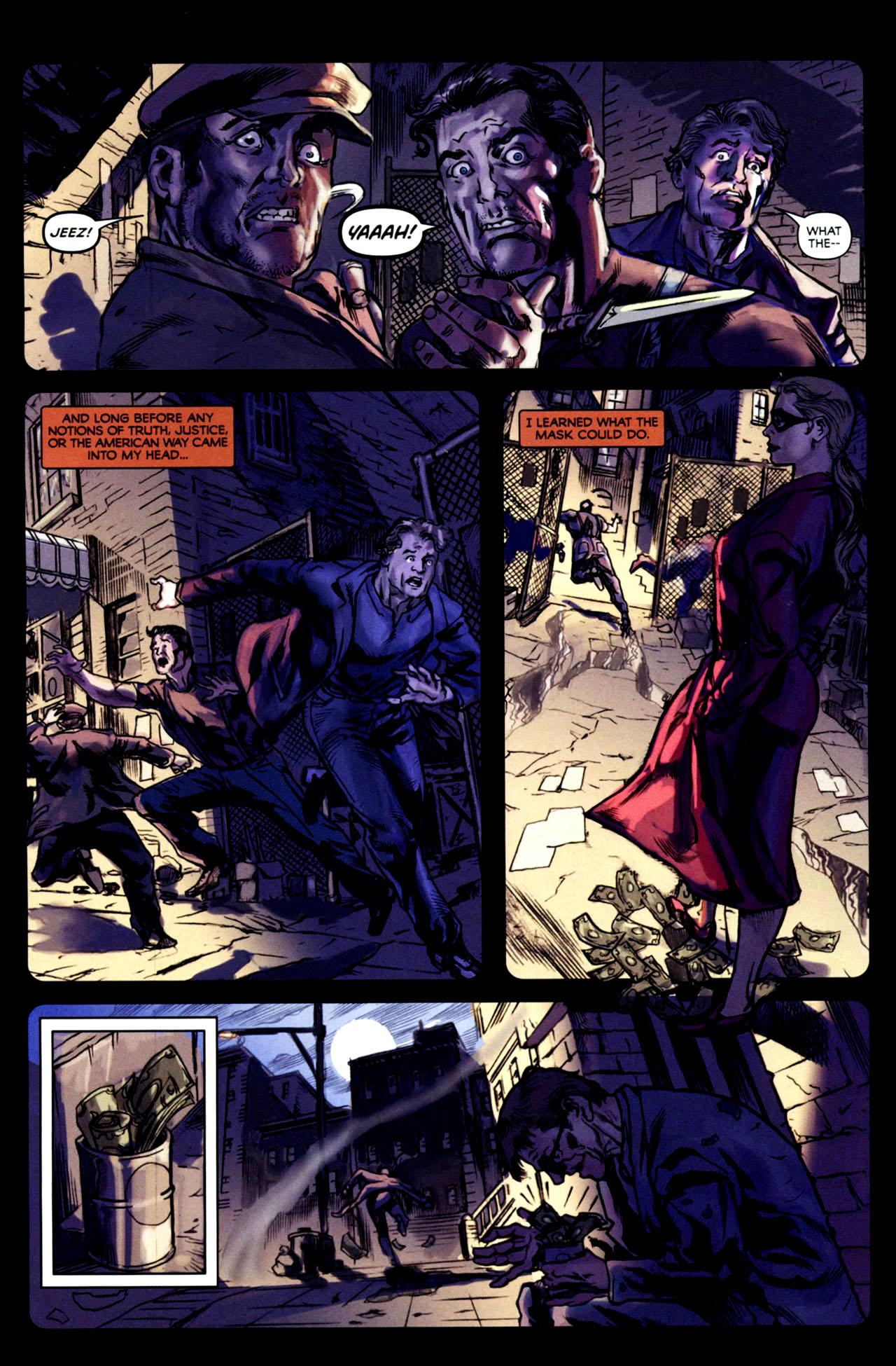 Read online Masquerade comic -  Issue #2 - 20