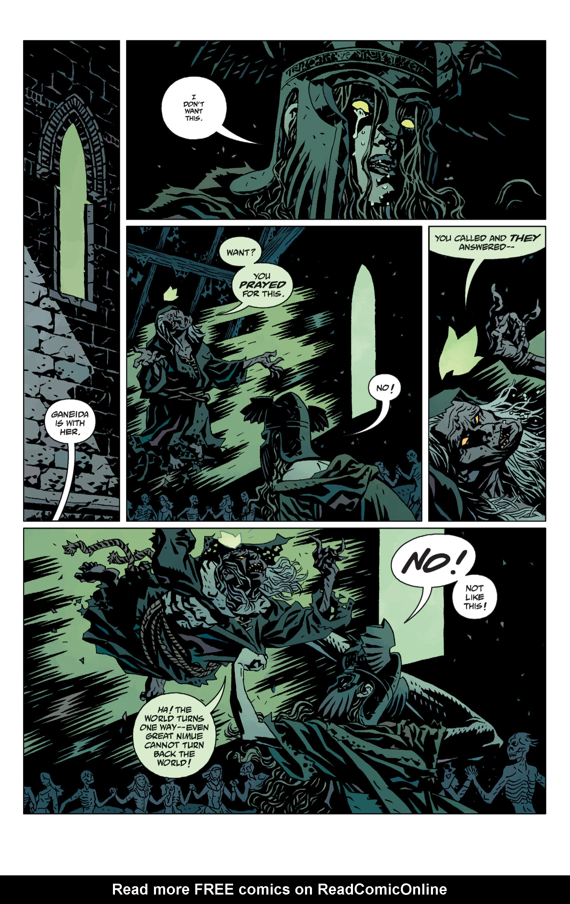 Hellboy chap 12 pic 92