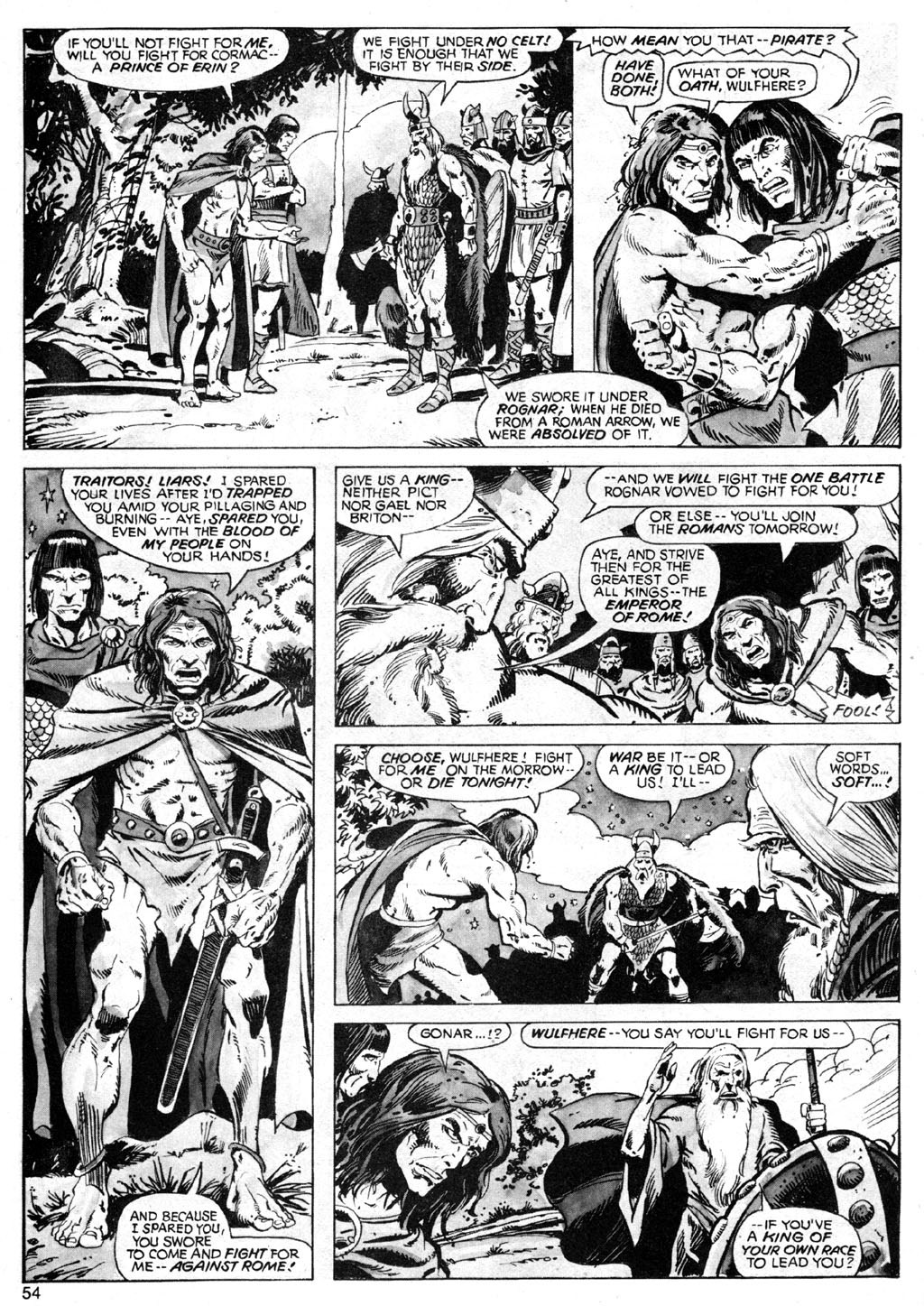 The Savage Sword Of Conan Issue #42 #43 - English 54