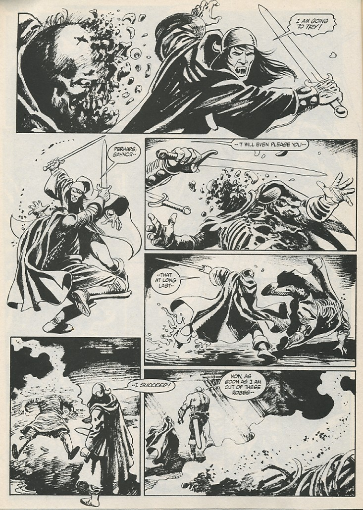 The Savage Sword Of Conan Issue #189 #190 - English 36