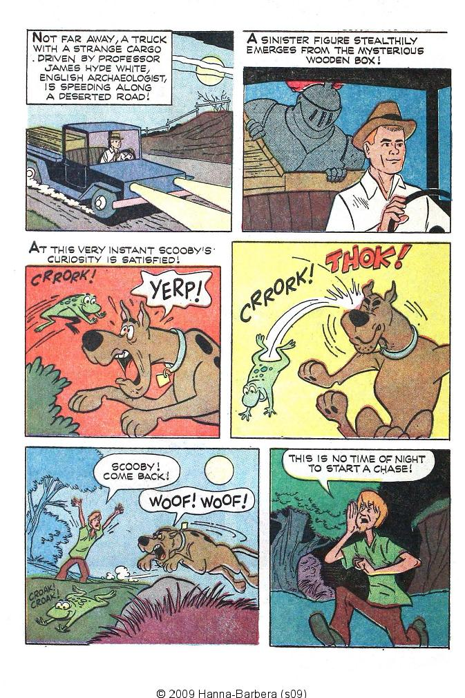 Read online Scooby-Doo... Where Are You! (1970) comic -  Issue #1 - 4