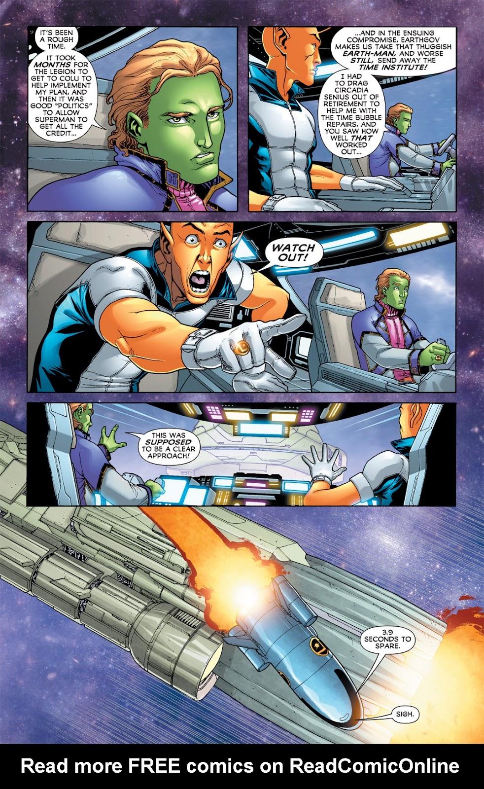 Legion of Super-Heroes (2010) Issue #7 #8 - English 25
