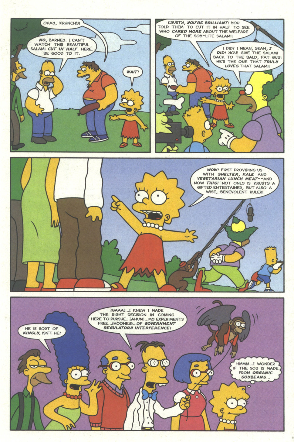 Read online Simpsons Comics comic -  Issue #28 - 14