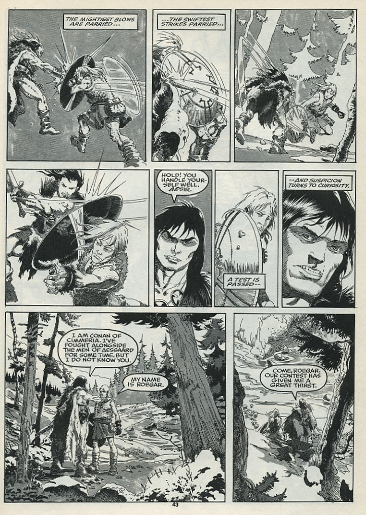 The Savage Sword Of Conan Issue #182 #183 - English 45