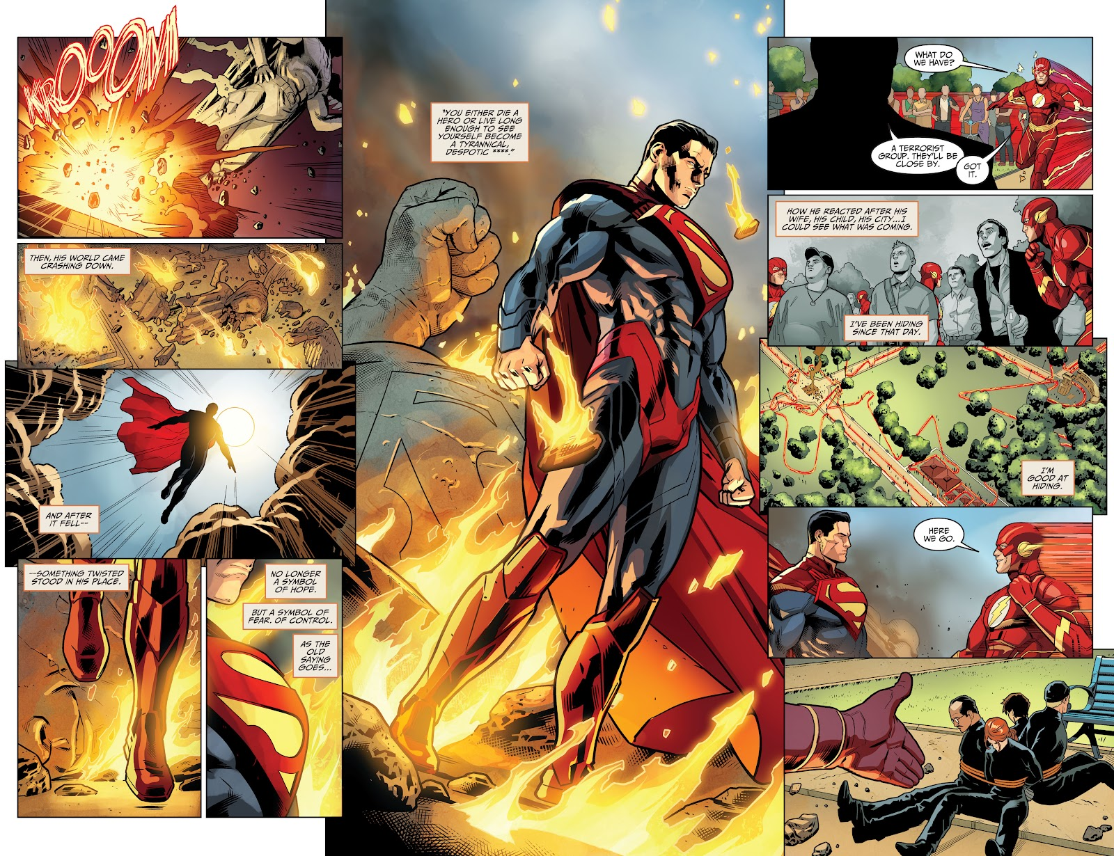 Injustice: Gods Among Us Year Four _Annual 1 #1 - English 4