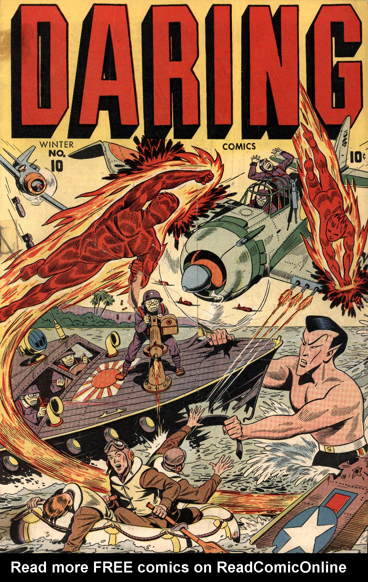 Daring Comics 10 Page 1