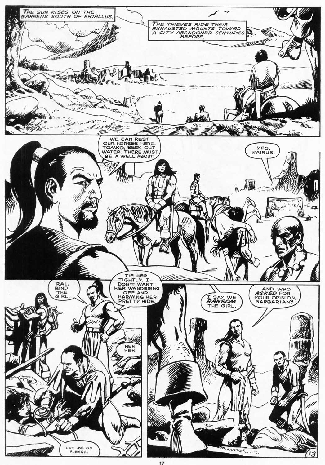 The Savage Sword Of Conan Issue #156 #157 - English 18