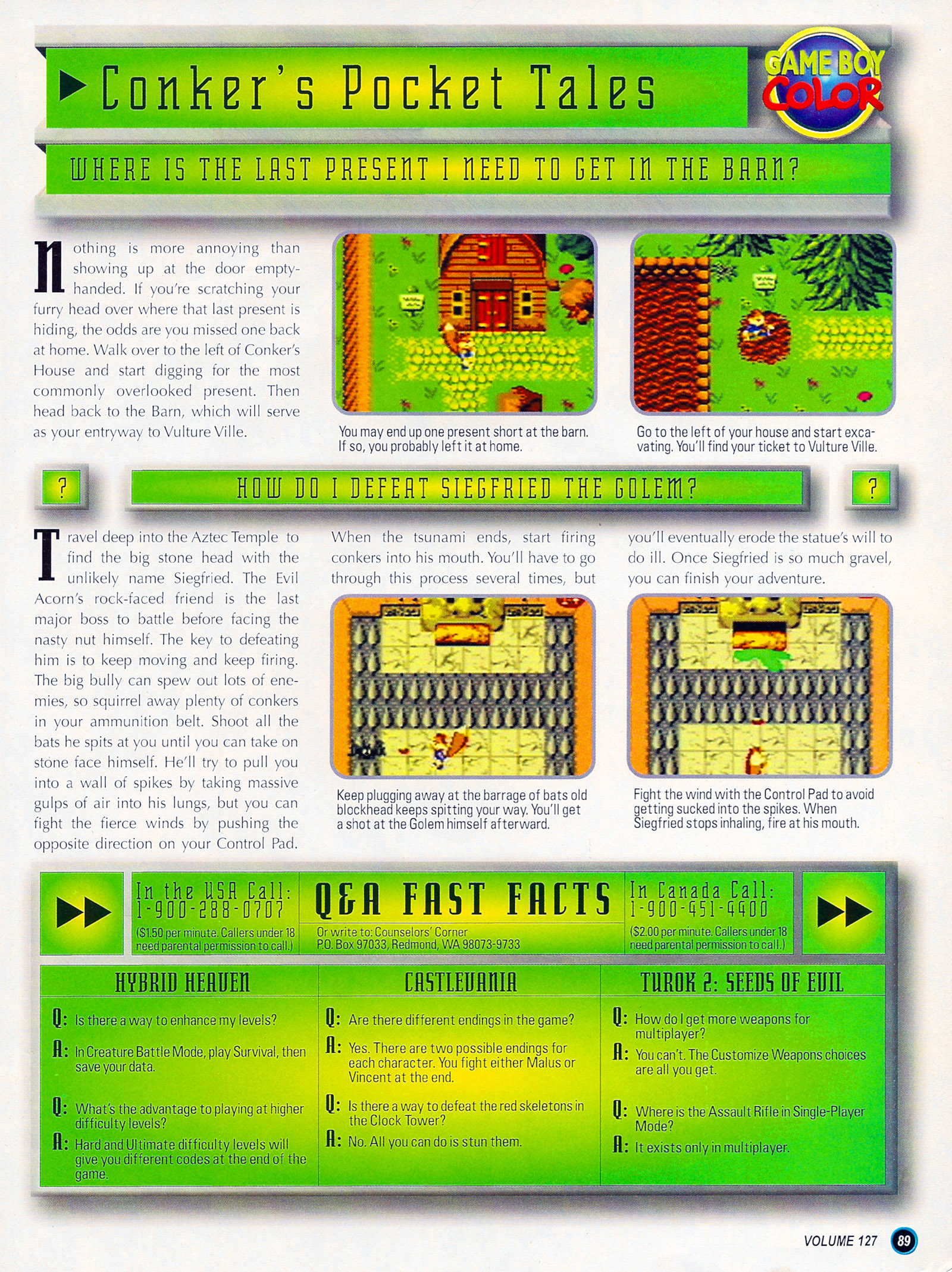 Nintendo Power #127 #127 - English 113