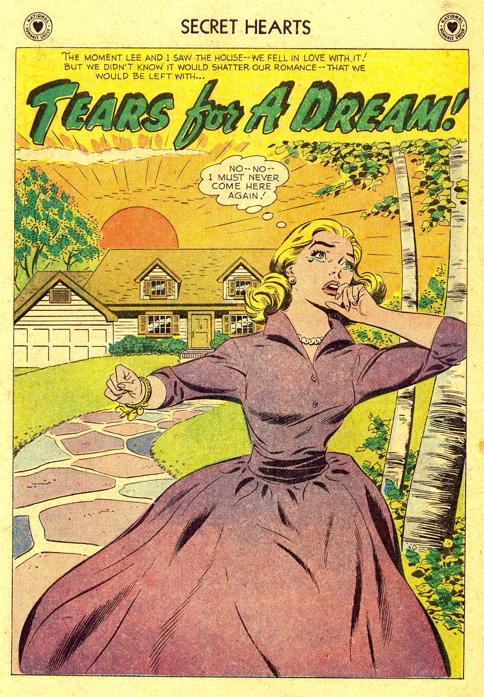 Read online Secret Hearts comic -  Issue #45 - 10
