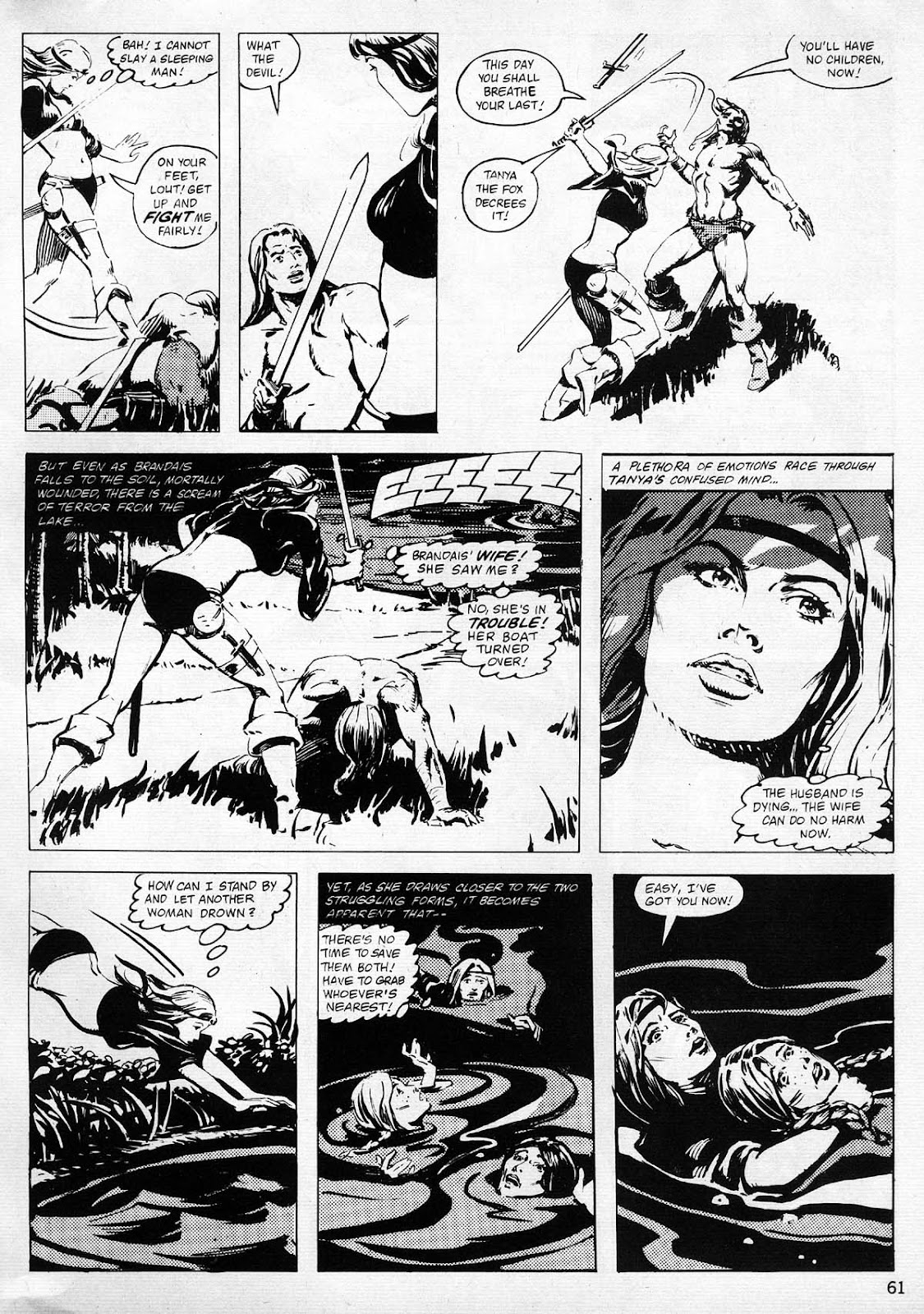 The Savage Sword Of Conan Issue #77 #78 - English 58