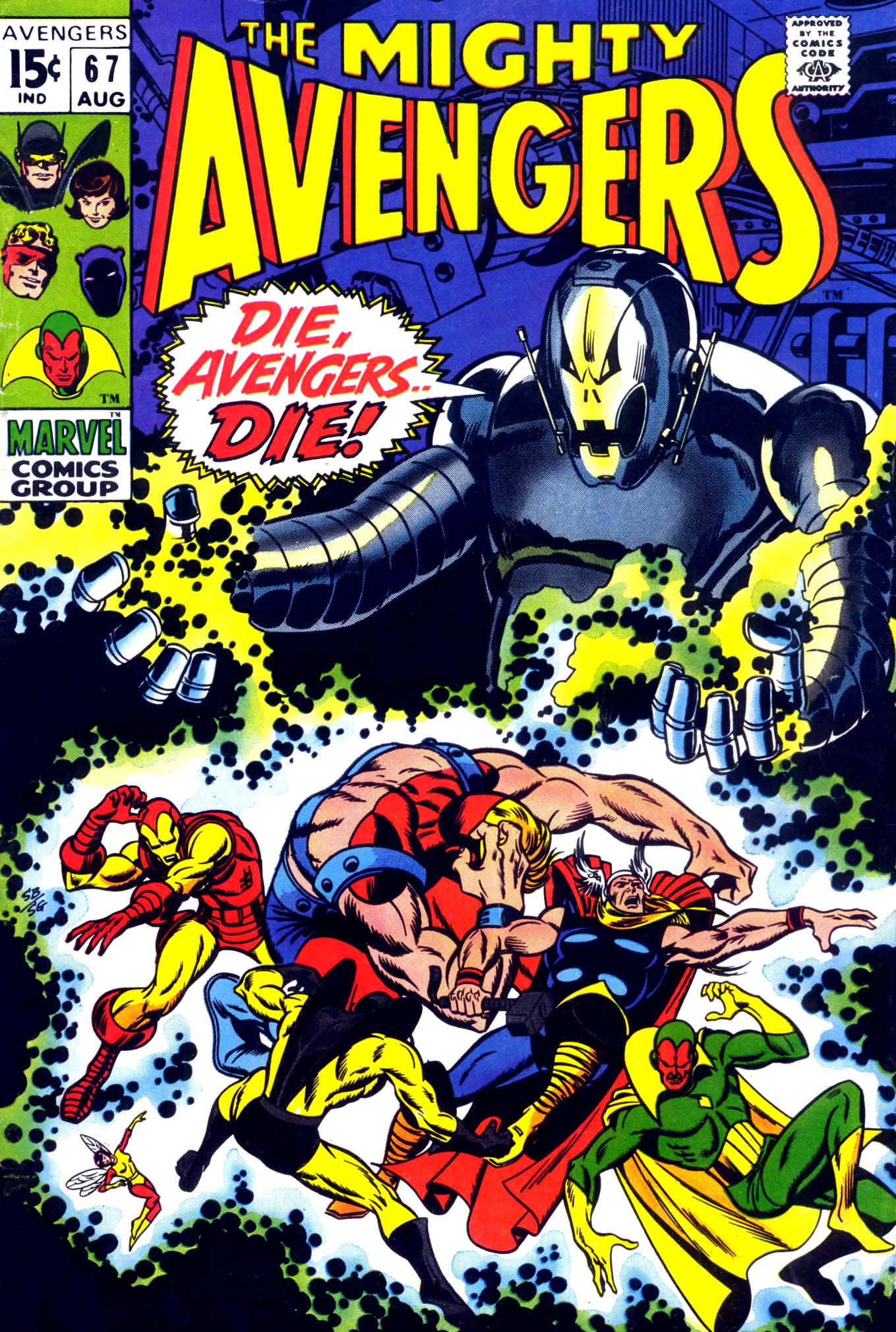 The Avengers (1963) 67 Page 1
