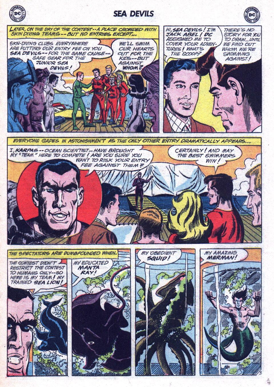 Read online Sea Devils comic -  Issue #14 - 21
