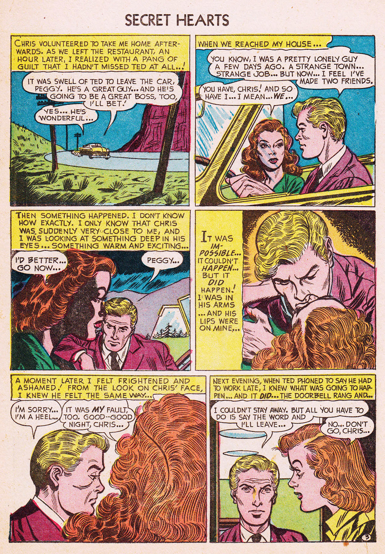 Read online Secret Hearts comic -  Issue #13 - 20