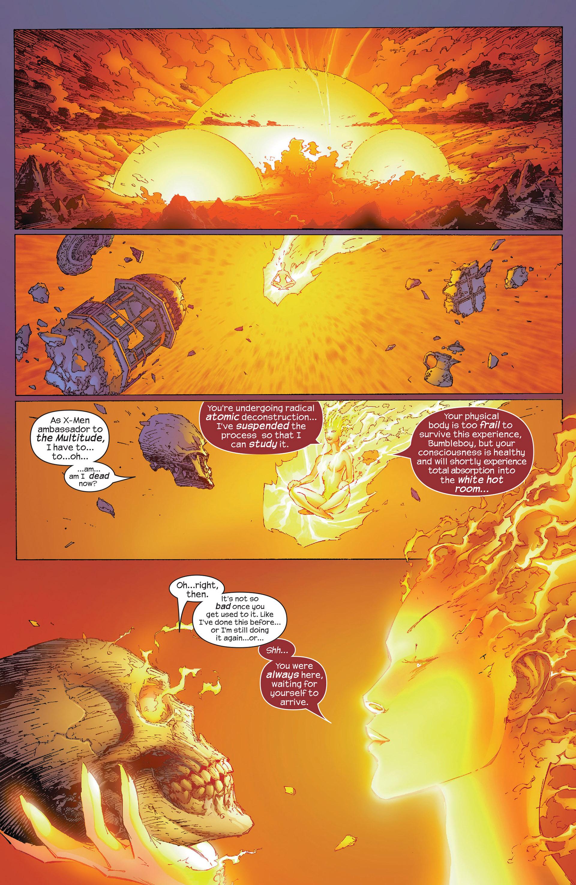 Read online New X-Men (2001) comic -  Issue #153 - 5