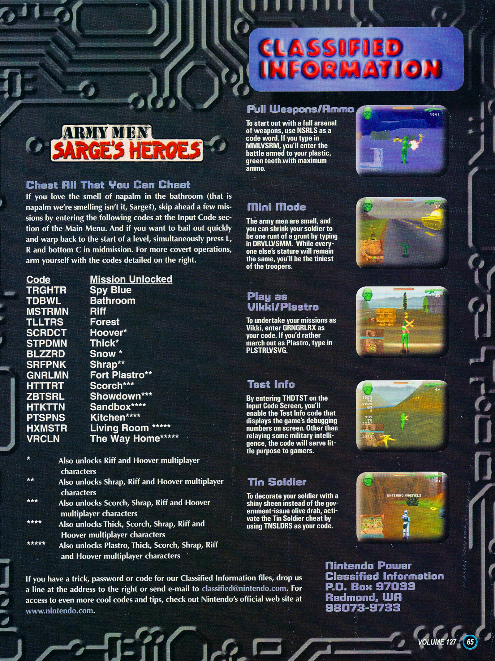 Nintendo Power #127 #127 - English 73