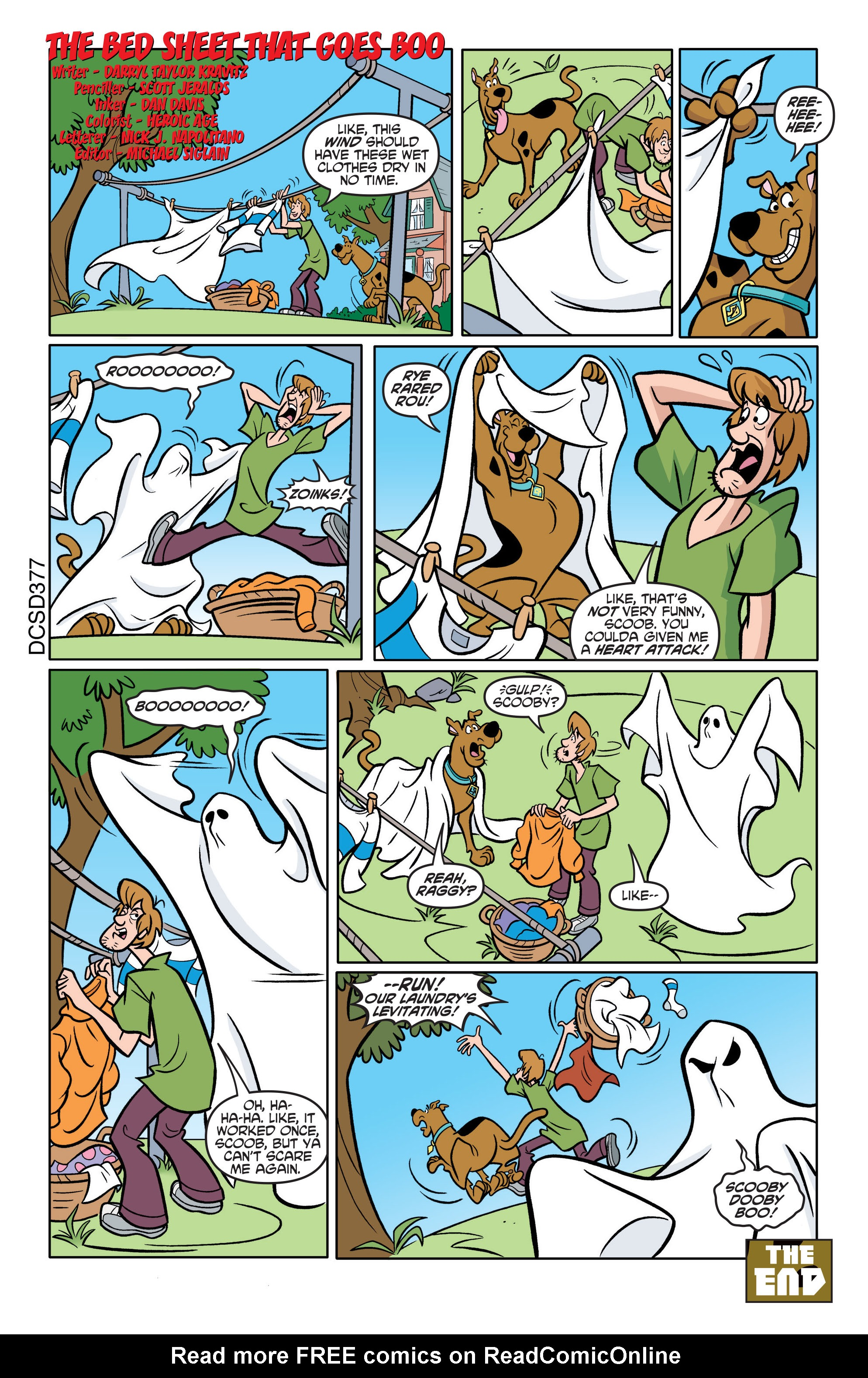 Read online Scooby-Doo: Where Are You? comic -  Issue #75 - 21