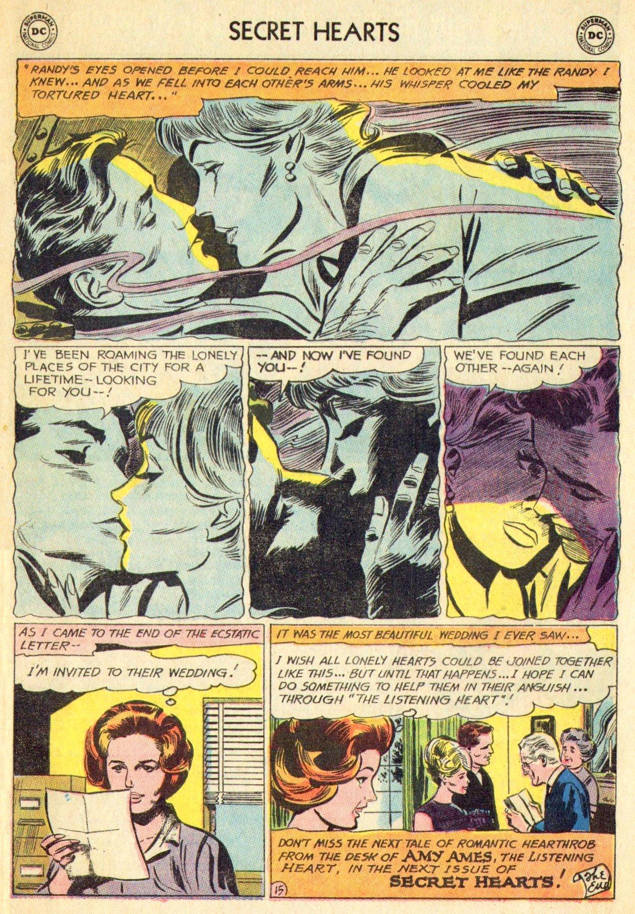 Read online Secret Hearts comic -  Issue #101 - 33