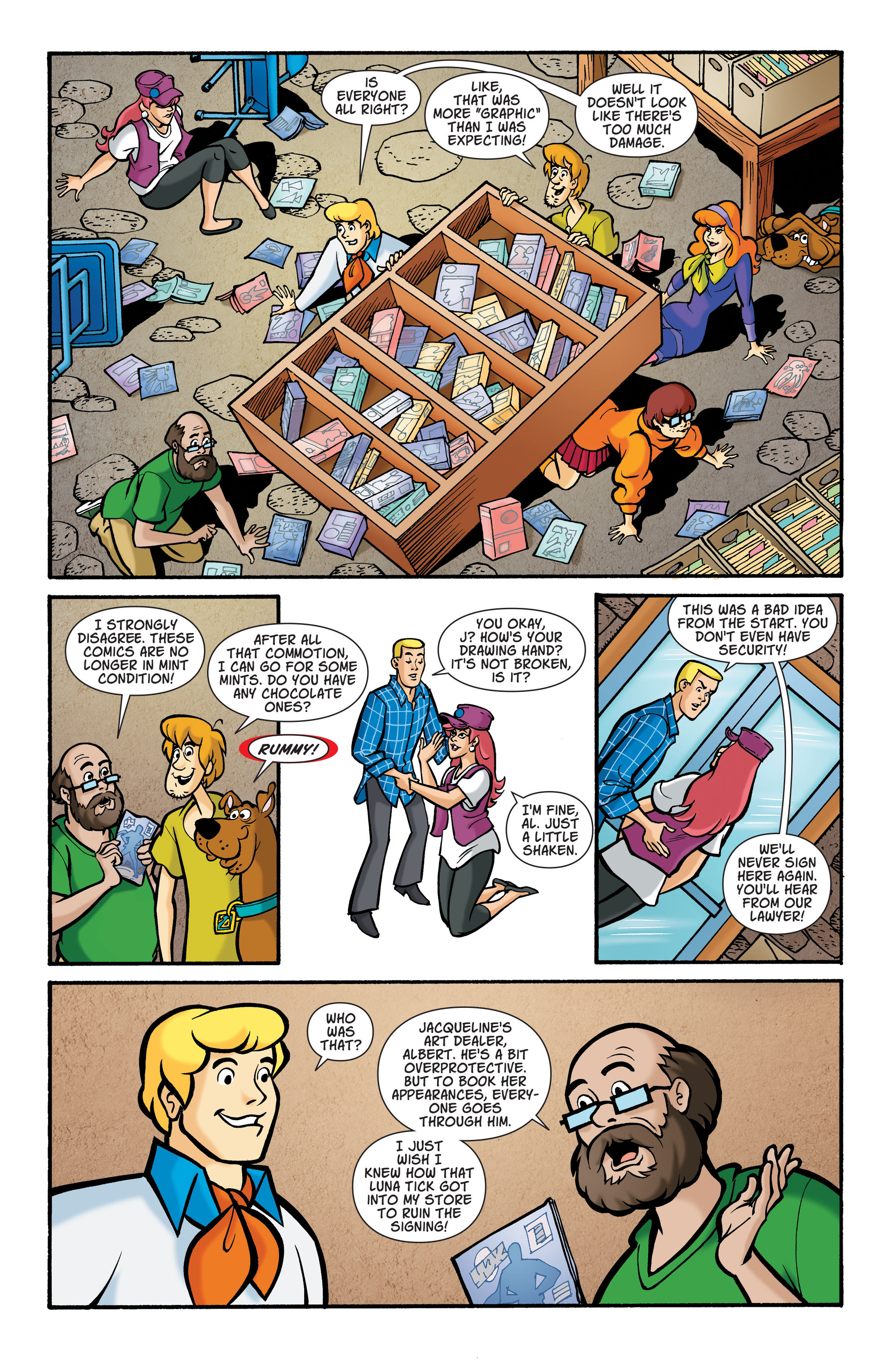 Read online Scooby-Doo: Where Are You? comic -  Issue #73 - 4