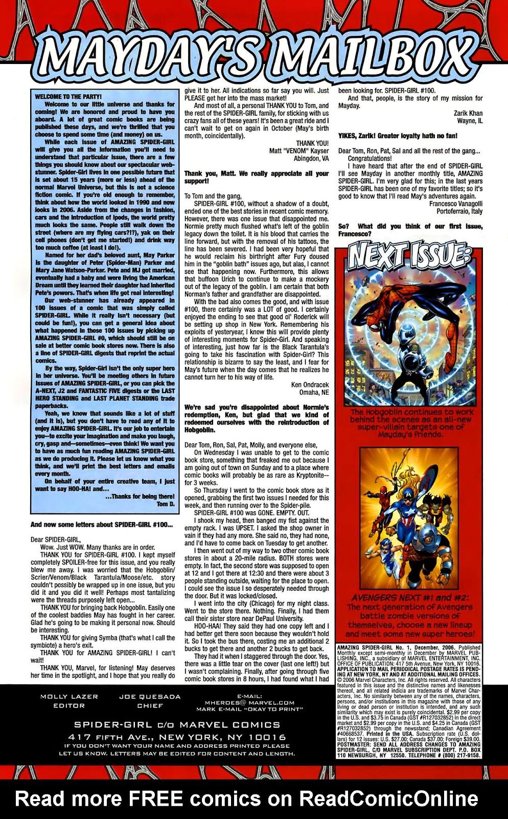 Amazing Spider-Girl Issue #1 #2 - English 26