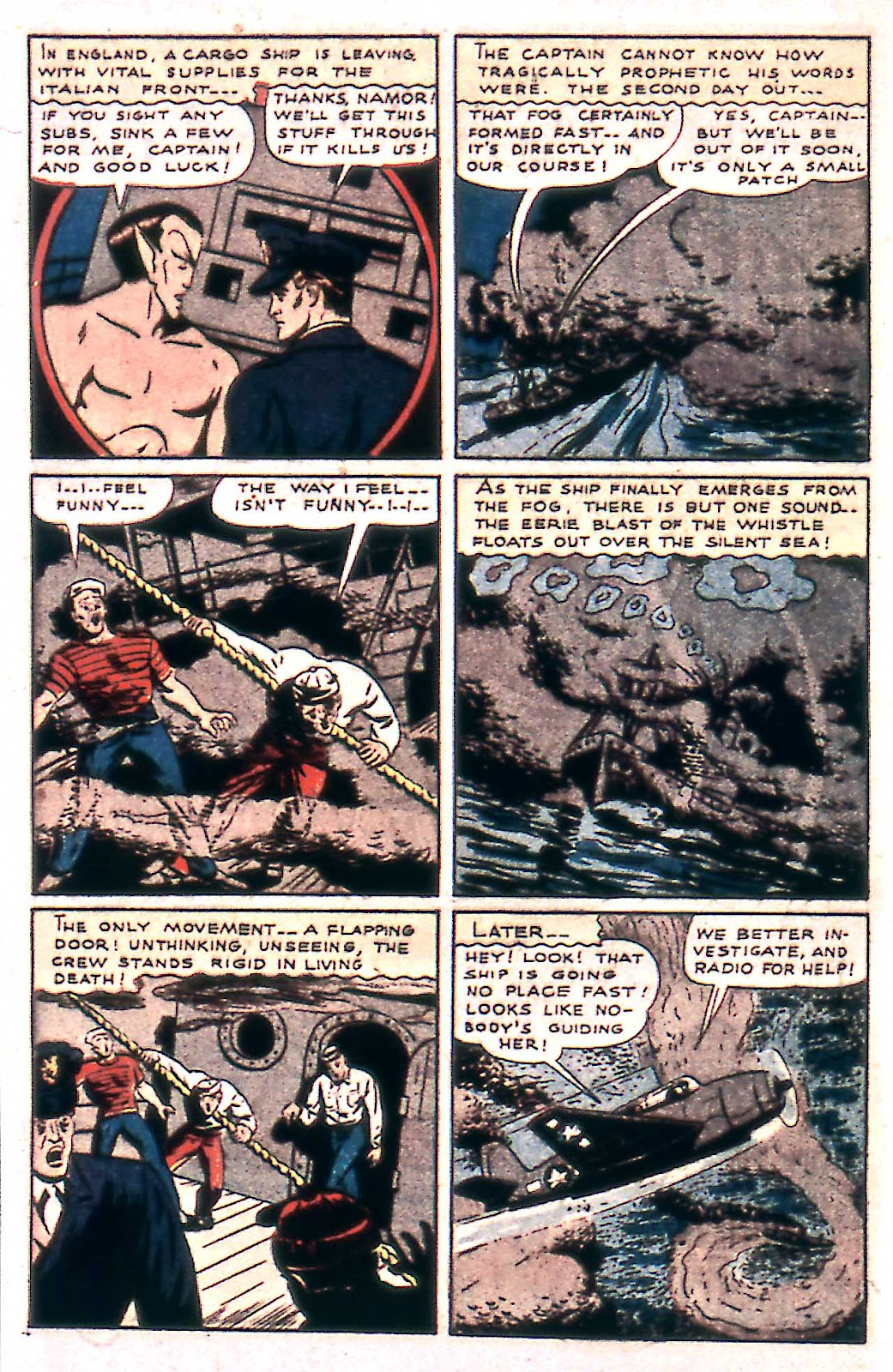 Sub-Mariner Comics Issue #14 #14 - English 4