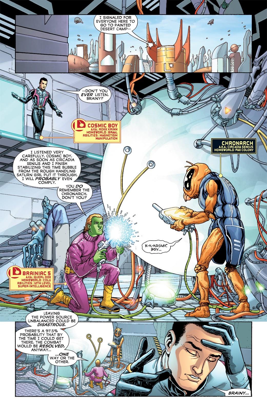 Legion of Super-Heroes (2010) Issue #5 #6 - English 17