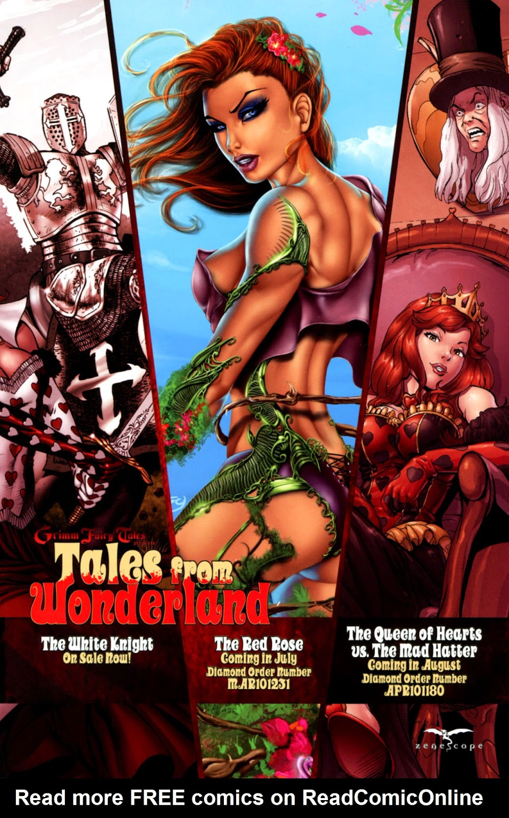 Grimm Fairy Tales: Swimsuit Edition Full #1 - English 45