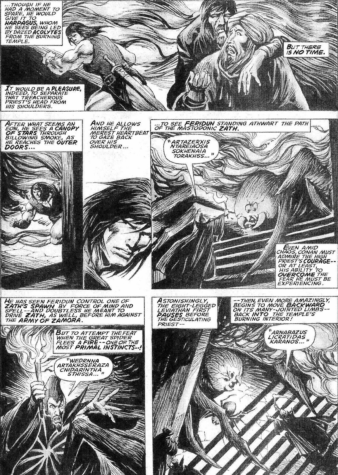 The Savage Sword Of Conan Issue #210 #211 - English 36