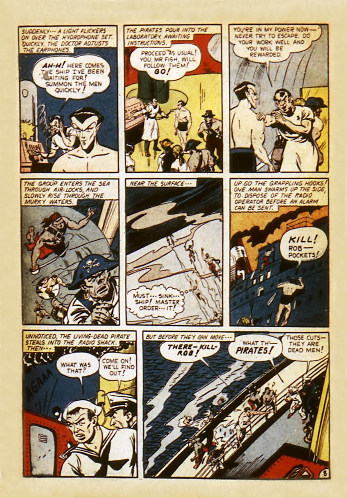 Sub-Mariner Comics Issue #7 #7 - English 10