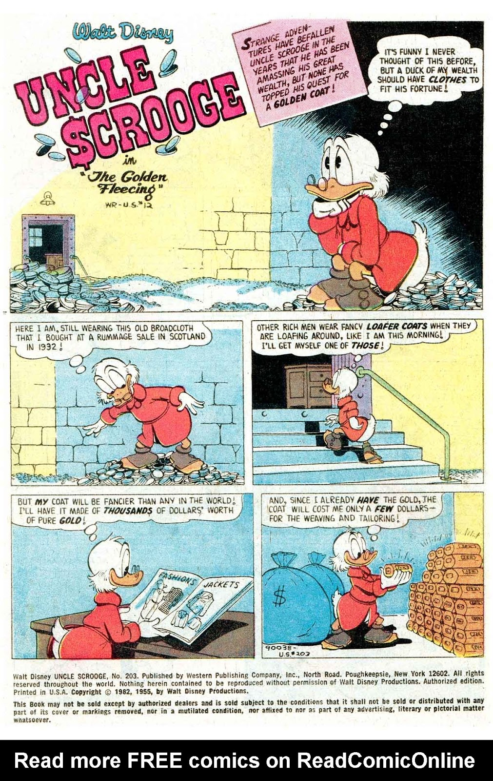Uncle Scrooge (1953) Issue #203 #203 - English 3