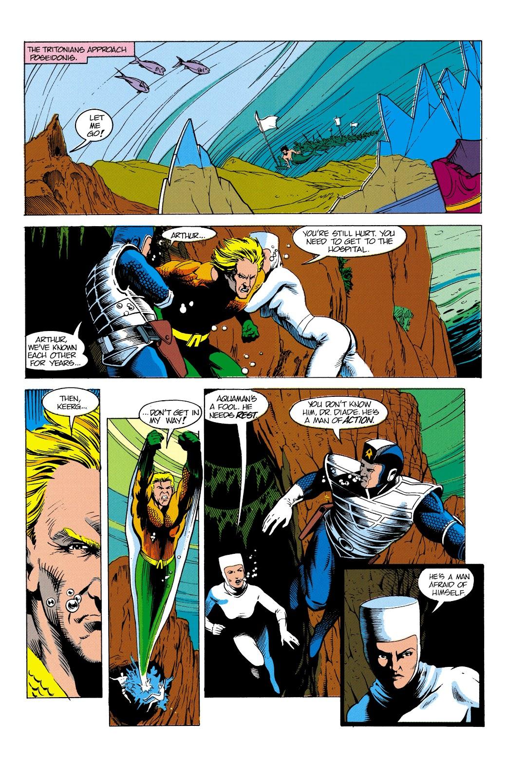 Aquaman (1991) Issue #4 #4 - English 3