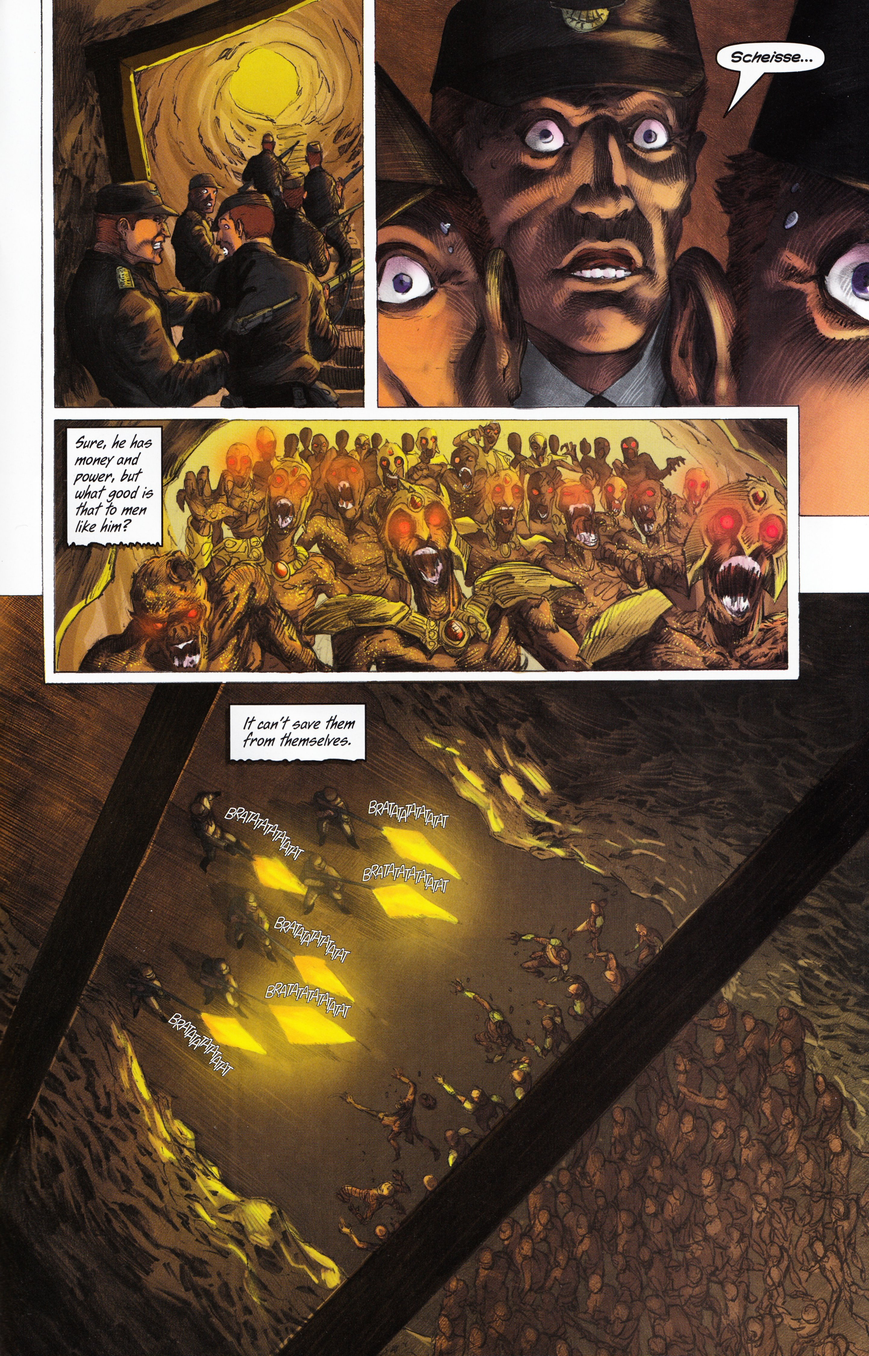 Read online Evil Dead 2: Tales of the Ex-Mortis comic -  Issue #3 - 35