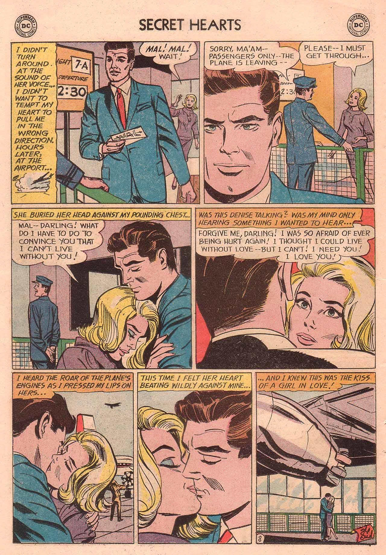 Read online Secret Hearts comic -  Issue #94 - 10