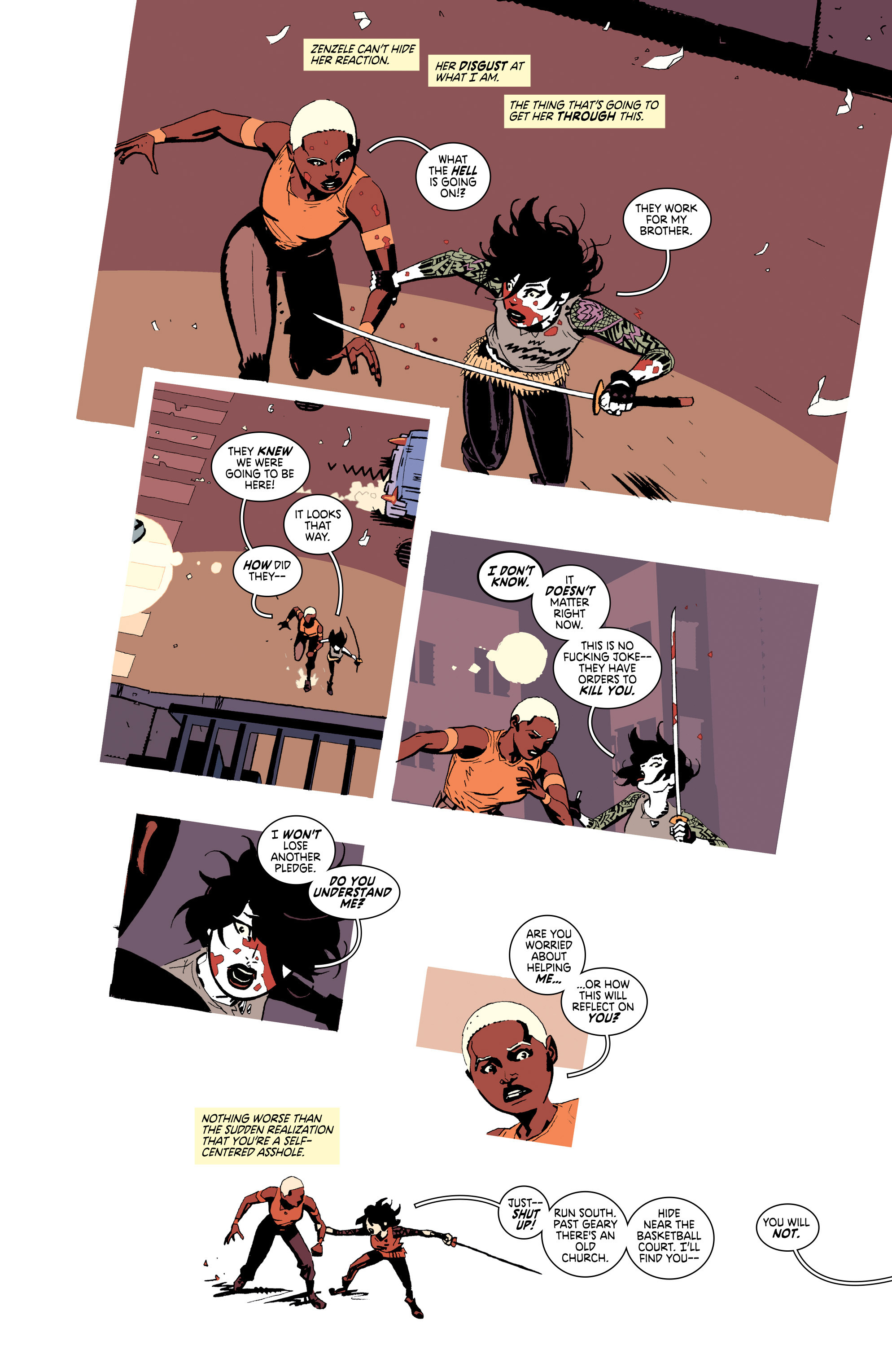 Read online Deadly Class comic -  Issue #25 - 7