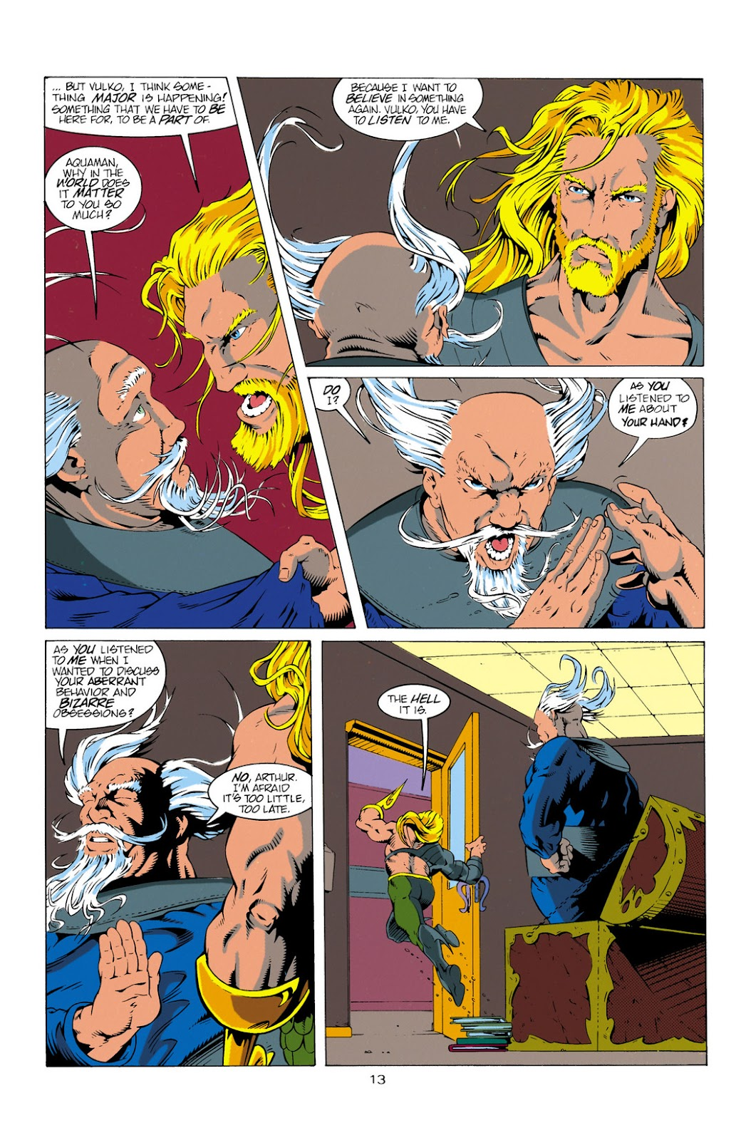 Aquaman (1994) Issue #11 #17 - English 13