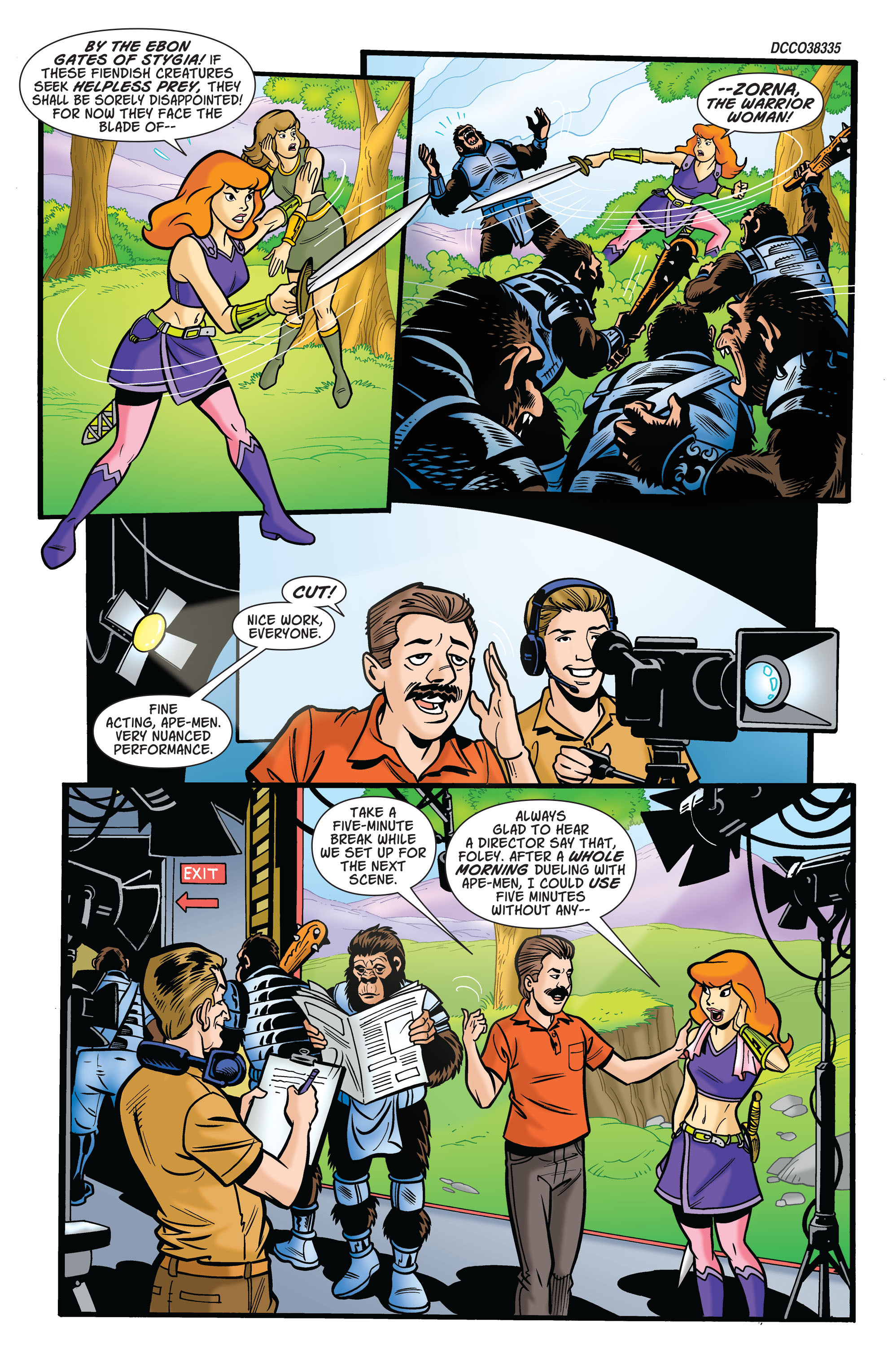 Read online Scooby-Doo: Where Are You? comic -  Issue #75 - 2