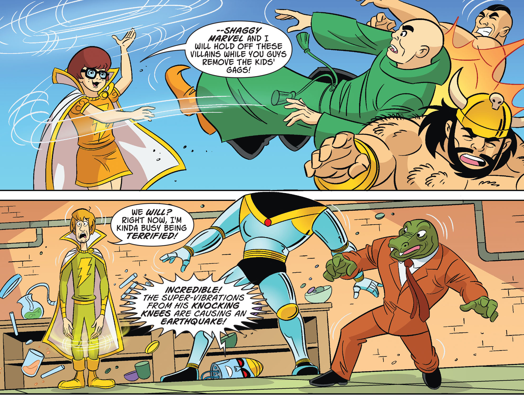 Read online Scooby-Doo! Team-Up comic -  Issue #32 - 10