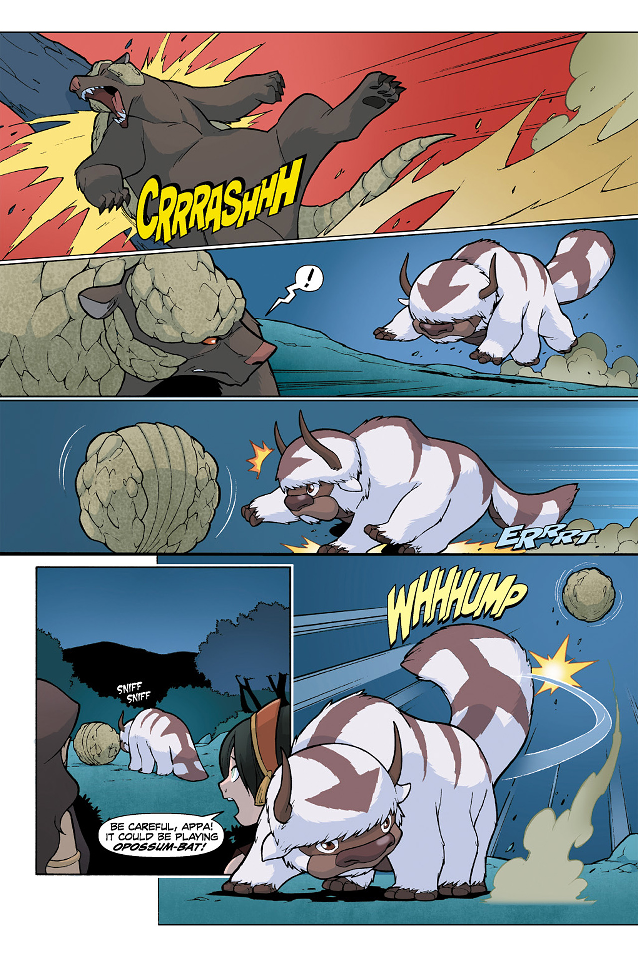 Nickelodeon Avatar: The Last Airbender - The Lost Adventures chap full pic 162