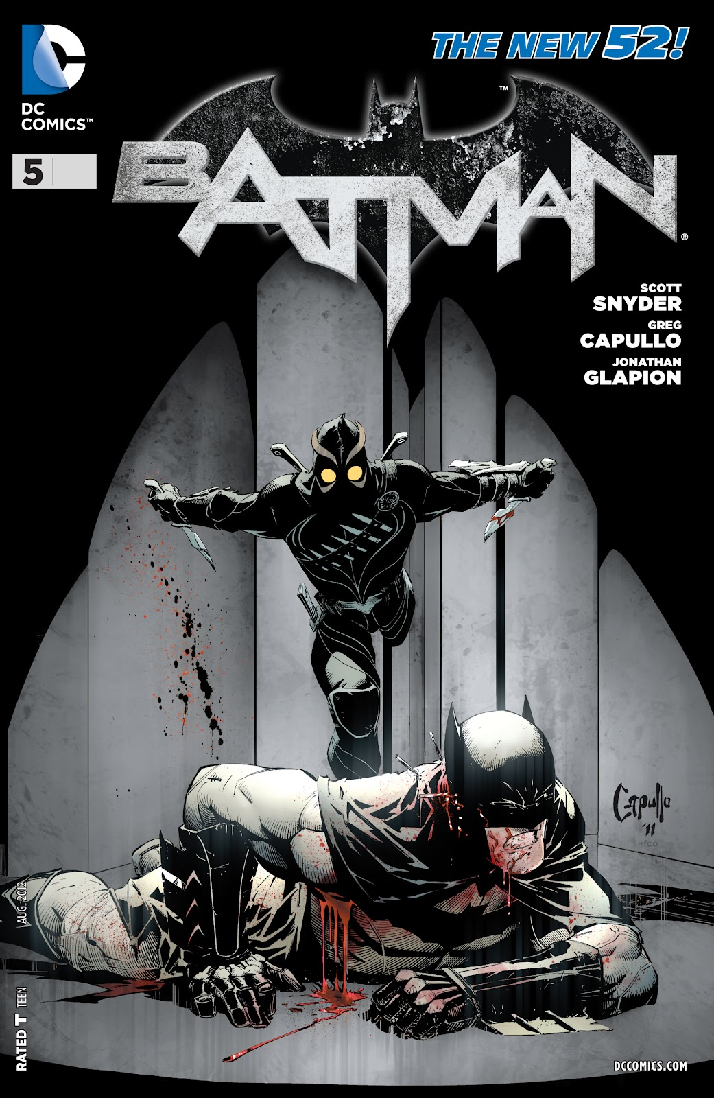 Batman (2011) Issue #5 #20 - English 24