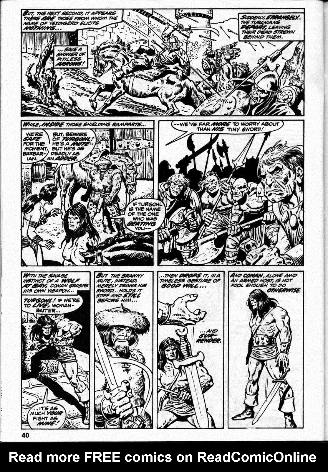 The Savage Sword Of Conan Issue #59 #60 - English 47